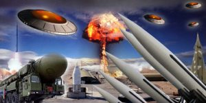 UFO Over Weapons Storage Area (Art Effect) - 02