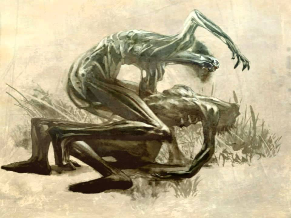 Paranormal Creatures Eating Human Food