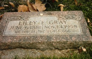 Lilly-grave