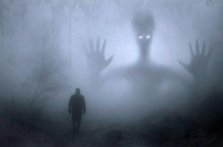 Gray man, alien