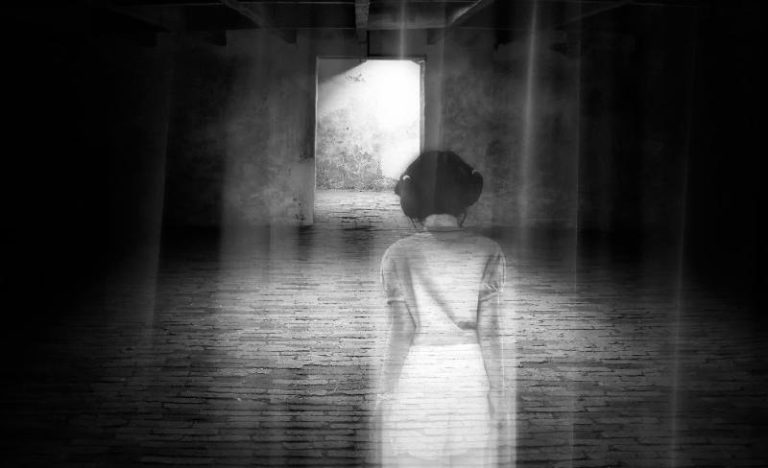 Haunted, girl, ghost