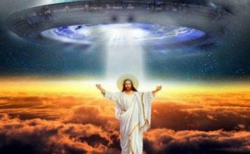 Jesus alien, UFO