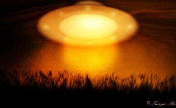 Orange UFO