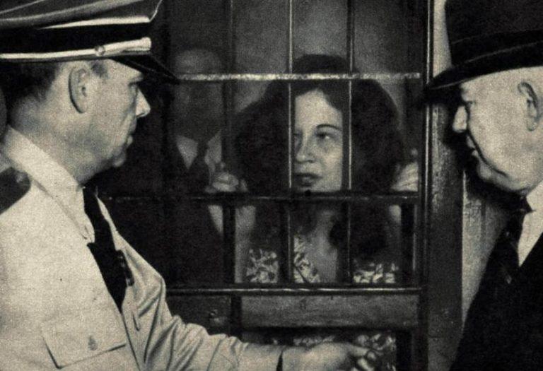 Toni Jo in jail
