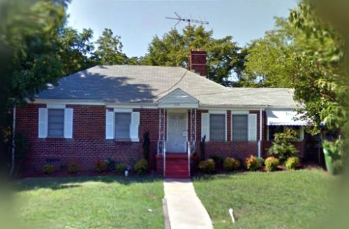 The House That Dripped Blood. 1114 Fountain Drive