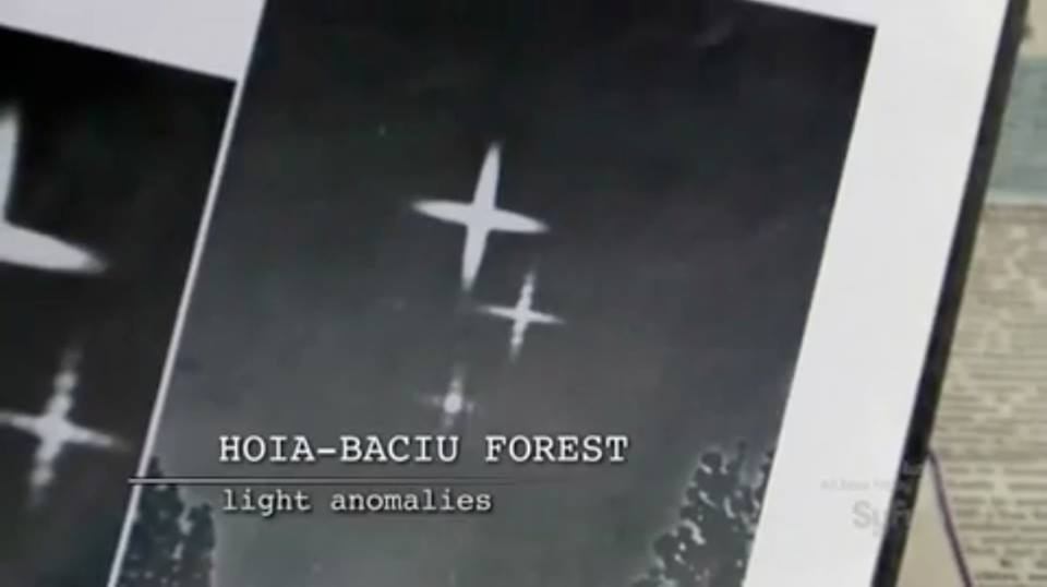 Light anomalies in Hoia Baciu
