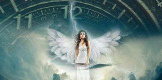 Angel clock