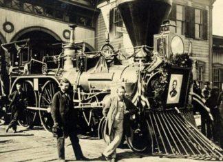 Lincoln's funeral train