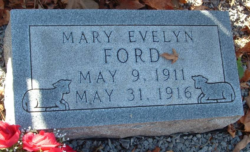 Mary Evelyn Ford grave