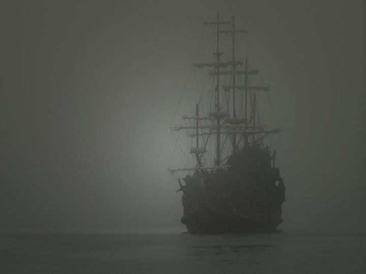 Ghost ship Zebrina