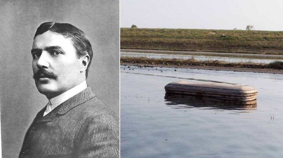Charles Coghlan coffin