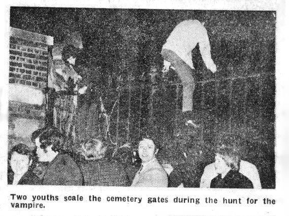 Vampire Hunt at Highgate Cemetery