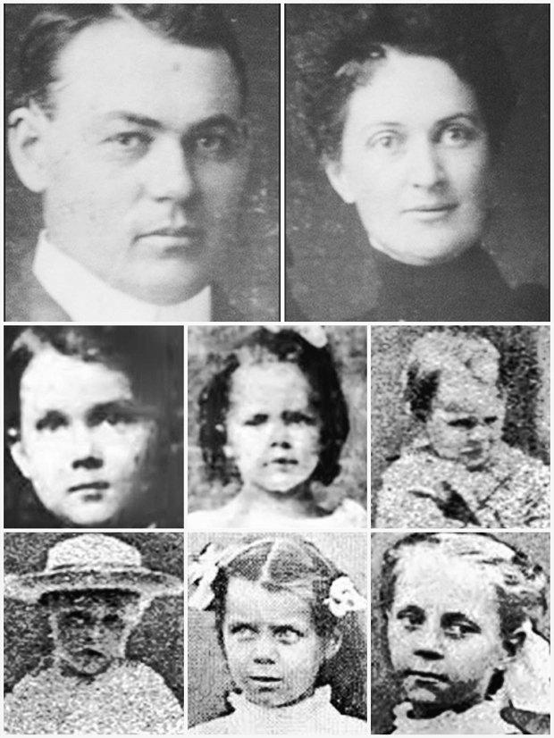 Villisca Axe Murder Victims