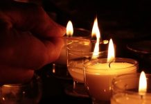 Blessing candles