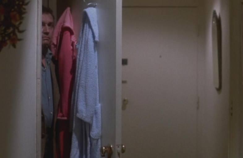 Stranger in closet