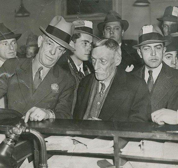 Albert Fish on trial