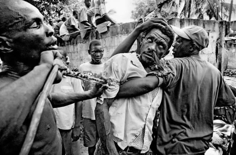 Zombie in Haiti