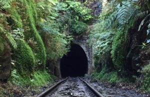 Haunted tunnel