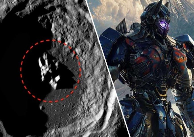 Transformers on the moon