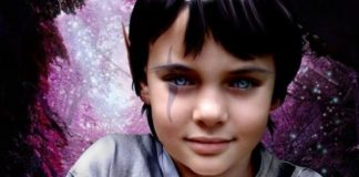 Crystal indigo child