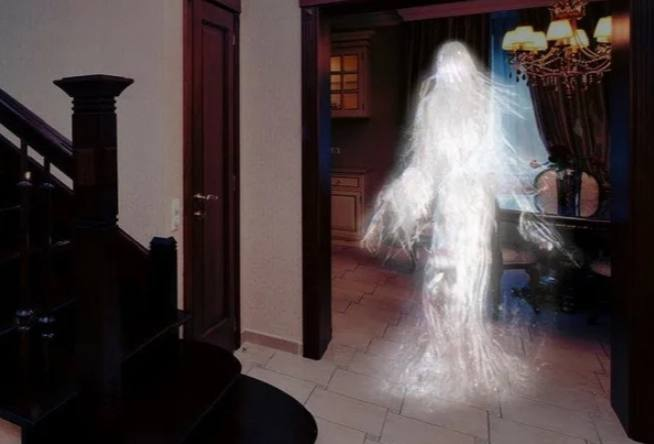 Ghost haunted