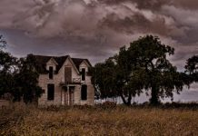 Haunted farmhouse