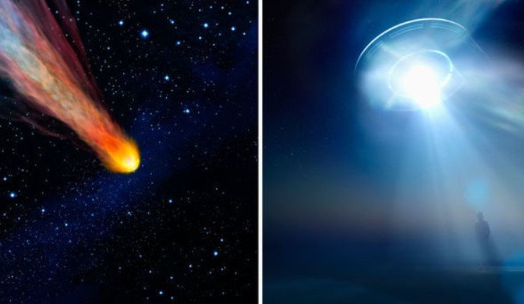 UFO meteorite