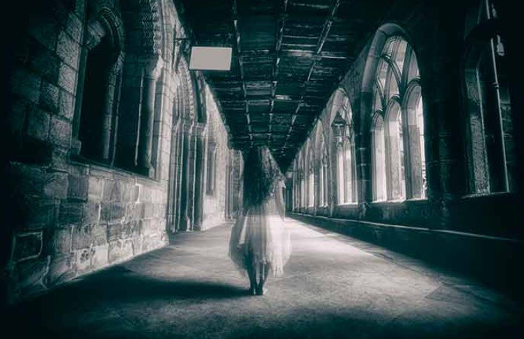 Ghost girl castle