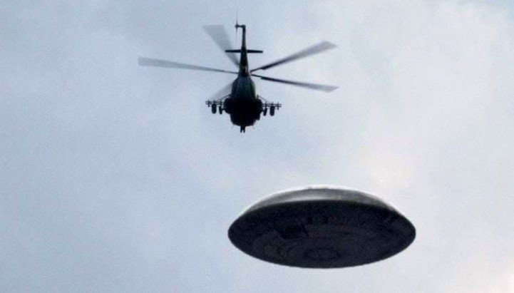 Helicopter UFO