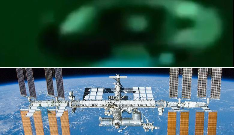 ISS Ufo