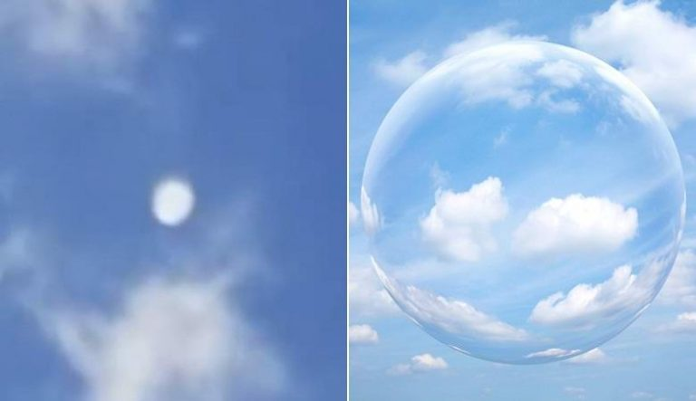 ufo orb white