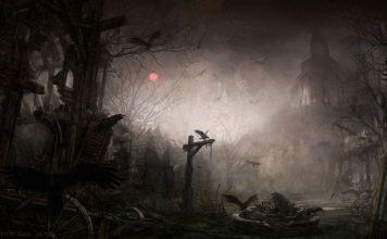 Scary village