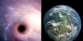 Earth black hole