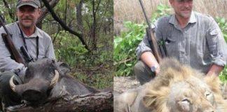 Hunter lion