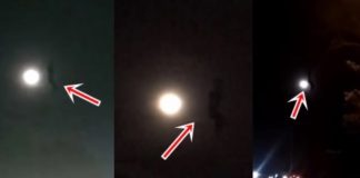 Object near moon