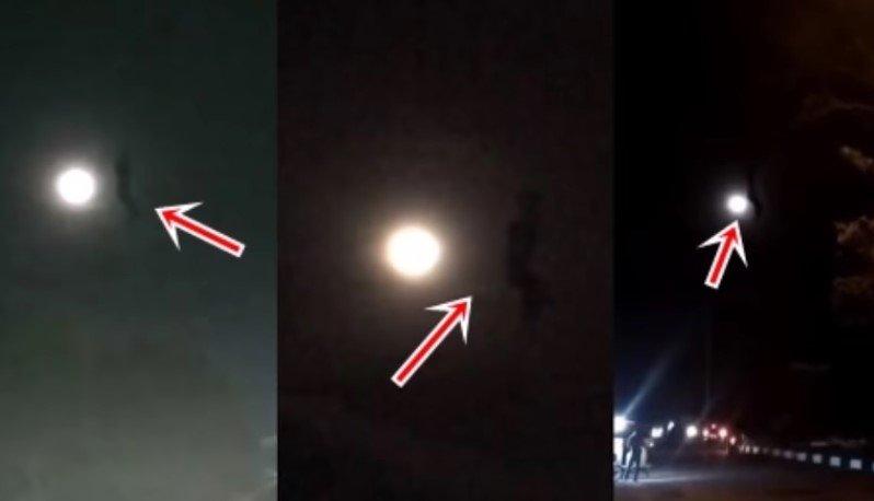 Object near moon