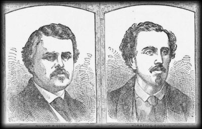 An illustrated sketch of the Eddy Brothers