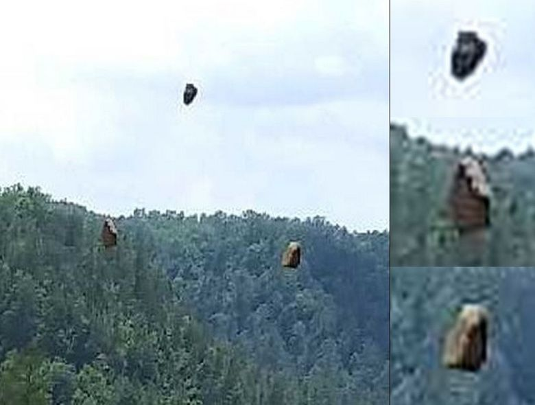 Flying stones