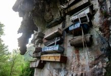 Sagada coffins