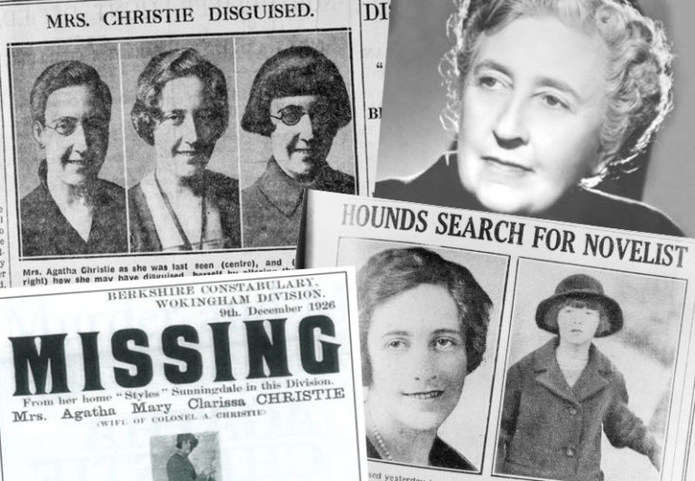 Image result for agatha christie disappearance