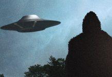 Bigfoot ufo