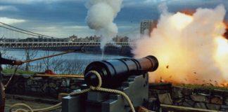 Cannon fire