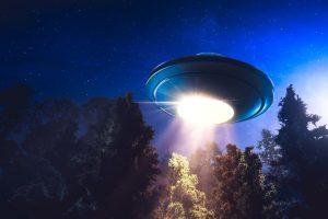 UFO sky