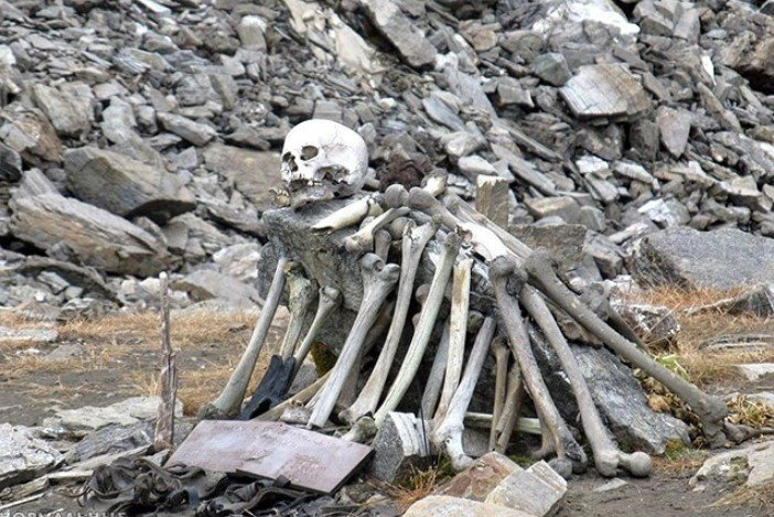 Lake skeleton