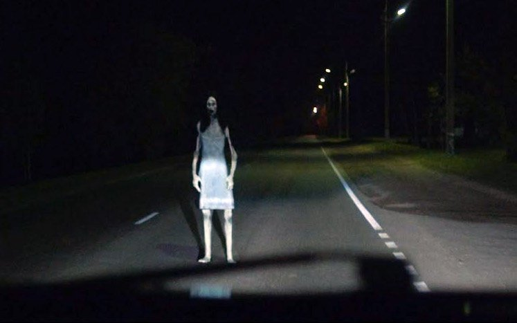 Haunted road