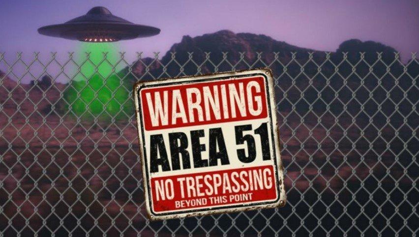 Area 51 UFO