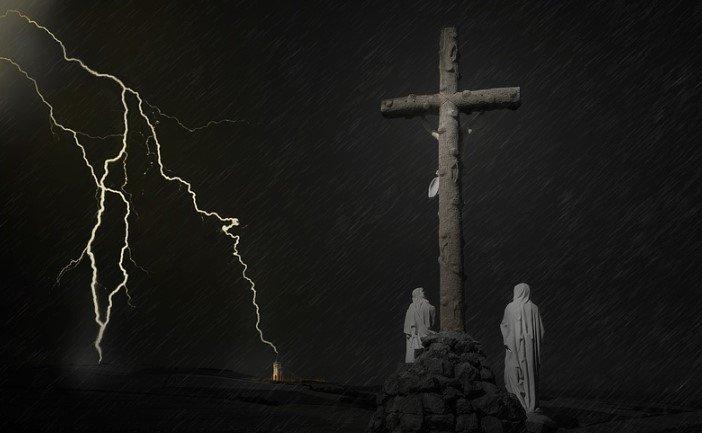 lightening cross
