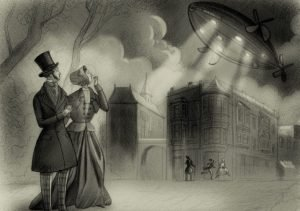 Mystery Airship of 1896