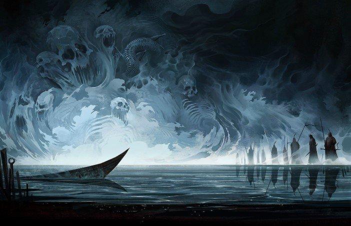 Haunted sea