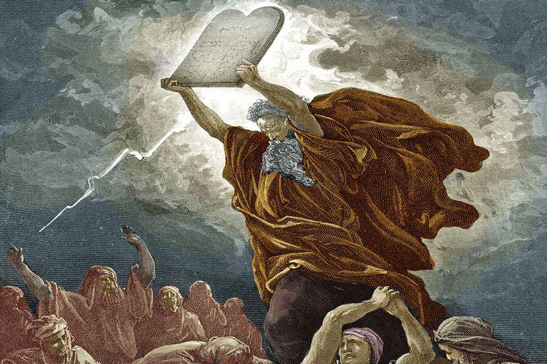 Moses god